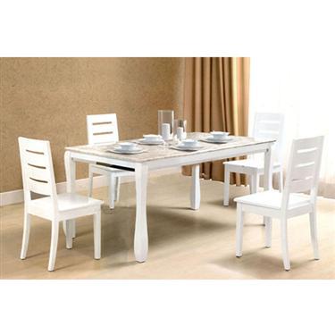 Bàn ghế ăn gỗ tự nhiên HGB60