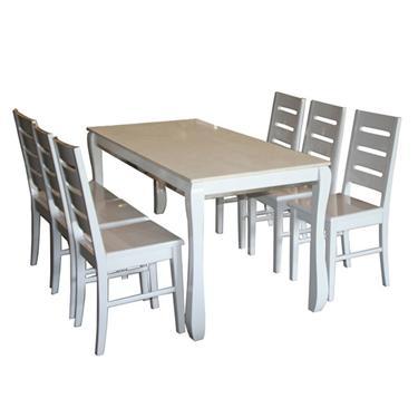 bàn ghế ăn gỗ tự nhiên HGG60