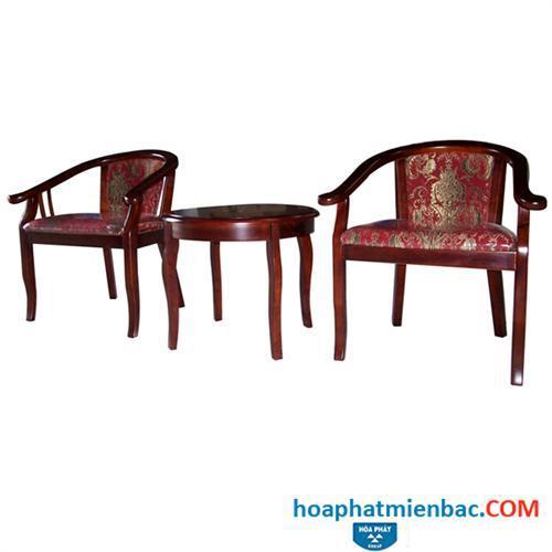 Bàn ghế khách sạn GKS04+BKS04