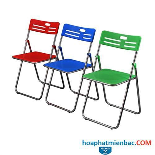 Tư vấn chọn màu sắc ghế gấp Hòa Phát cho phù hợp không gian